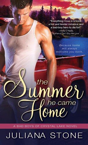 The Summer He Came Home (Bad Boys of Crystal Lake Book 1) (English Edition)