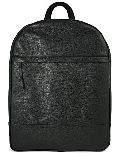 Grained-Calfskin-Leather-Backpack