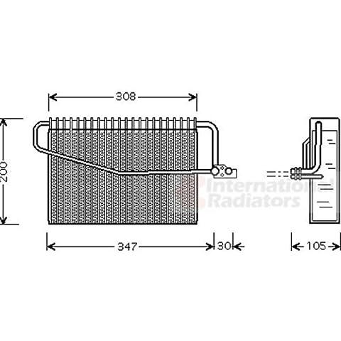 Van Wezel 3000V329–Evaporatore, Climatizzatore