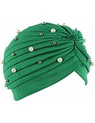 LUFA Perruque artificielle de perruques artificielles Chapeau de chimiothérapie Chapeau de chimiothérapie