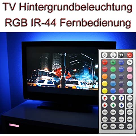 'Set ~ 22–24TV IR 44RGB LED luz de fondo Background Light