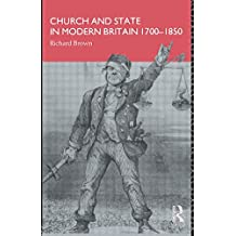 Church and State in Modern Britain 1700-1850