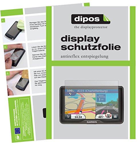 Garmin dezl 760 LMT-D Schutzfolie - 3x dipos Displayschutzfolie Folie matt (Garmin 760 Zubehör)