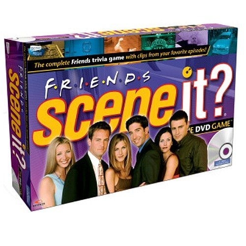 Mattel - Scene it - Friends UK DVD-Brettspiel