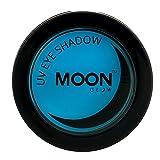 Moon Glow - Ombretto per la luce Neon UV 3.5g Blu – produce un'incredibile brillantezza sotto l'illuminazione UV/luci scure