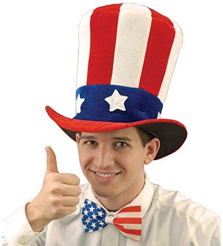 Unbekannt Hut Onkel Sam Größe Erwachsene (Erwachsenen Onkel Sam Erwachsene Kostüme)