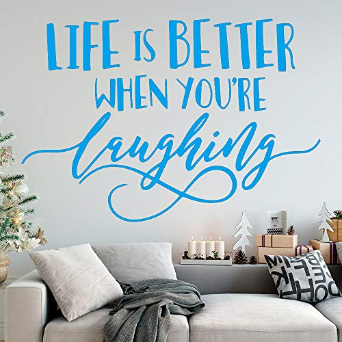 Citas creativas Life Is Better Wall Stickers Autoadhesivo