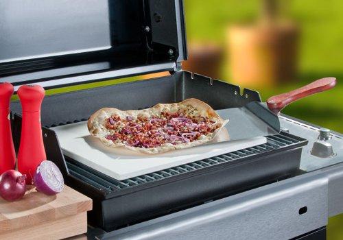 Pizzastein Für Gasgrill : Santos pizzastein für gas grill backofen grill cm