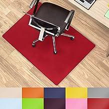Office Marshal® alfombrillas de colores para usar debajo de la silla multiusos para la protección