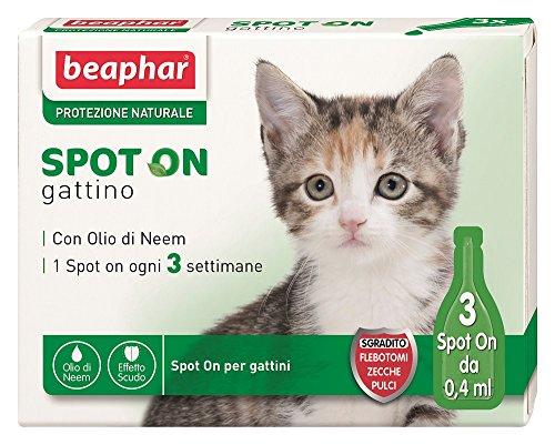 Beaphar - Protección natural para tu gato (3Pipetas)- Solución a