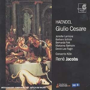 Händel: Giulio Cesare (Gesamtaufnahme)