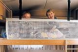 Campersun Reti di protezione per bambini o di contenimento materiali 180x50 cm,colore nero