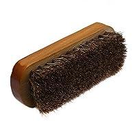 Nacpy Horse Hair Shoe Brus Wooden Polishing Horsehair Brushes Polishing Brush Cleaning Brush Natural Designed For Shoecare