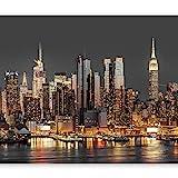 murando – Fotomurali 400x280 cm - Carta da parati sulla fliselina - Carta da parati in TNT - Quadri murali XXL - Fotomurale - City Citta City New York Manhattan Architecture Architettura d-B-0060-a-c