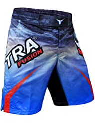 Mytra Fusion boxe kickboxing Muay Thai Mix Arts martiaux Cage Fighting Grappling formation Gym Porter Vêtements Short pour homme