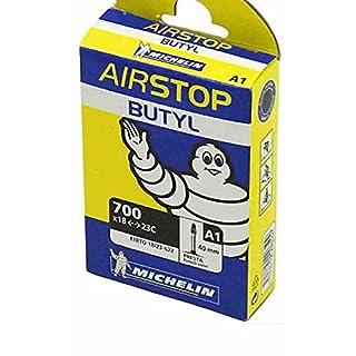 Michelin A1 Airstop Butyl, 700C Road Bike Tube-Presta 40mm-700c x 18-23mm