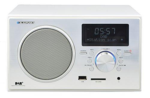 Blaupunkt RX+ 35e WH digitales DAB und Radio (USB,SD Kartenleser, Weckerfunktion) Klavierlack weiß