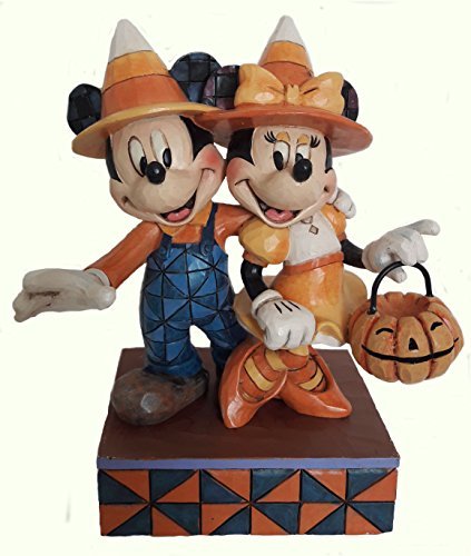Enesco Disney Jim Shore Mickey und Minnie Halloween (Mickey Und Halloween Minnie)
