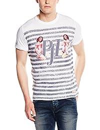 T-shirt Pepe Jeans Jack Blanc