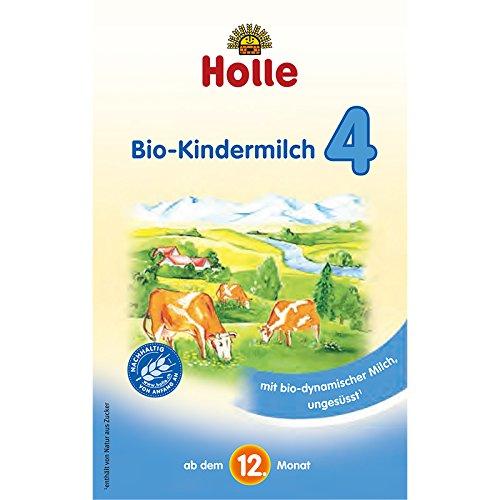 Holle Bio Kindermilch 4, 4er Pack (4 x 600g)