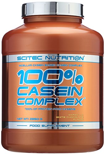 Scitec Nutrition  Casein Complex Maracuja- White Chocolate, 1er Pack (1 x 2350 g)