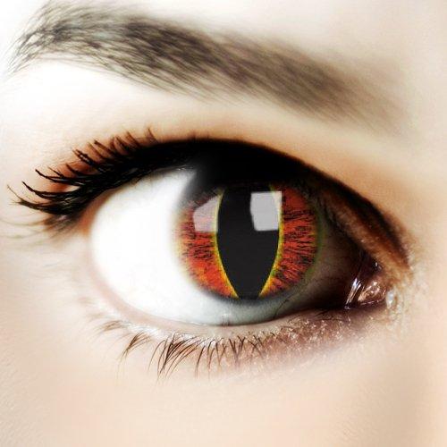 ColourVUE Saurons Eye, 1er Pack (1 x 2 (Saurons Kostüm Eye)