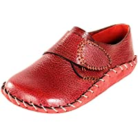 Scarpa Italia Maroon Colored Original Leather Baby Formal Booties For Boys(9-12 months)