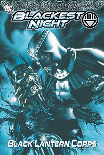 Blackest Night: Black Lantern Corps Vol. - Black Dc Lantern Comics