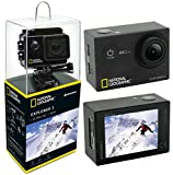 National Geographic Action Cam Explorer 3 4K Ultra HD 170°, WLAN, 2