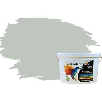 RyFo Colors Bunte Wandfarbe Manufakturweiß Graugrün 10l - weitere ...