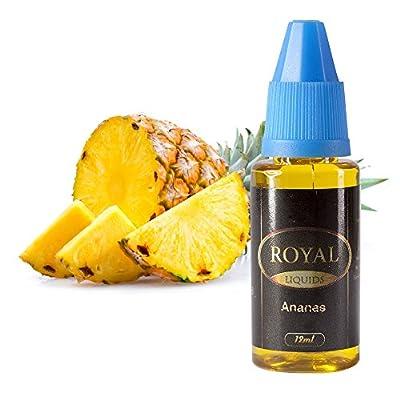 E-Liquid Ananas ohne Nikotin für E-Zigarette 12ml Inhalt von Royal Liquids