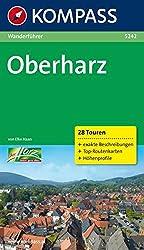 Oberharz: Wanderführer mit Tourenkarten und Höhenprofilen (KOMPASS-Wanderführer)