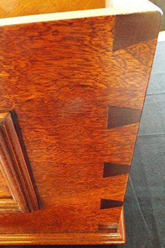 trtc Mahagoni Holz High Level Zisterne konisch-seitige
