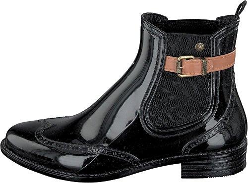 GOSCH SHOES , bottes en caoutchouc femme black-cognac