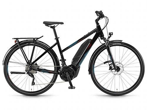 Winora E-Bike Yucatan 20 Damen 500Wh 28\'\' 20-G XT 18 Winora YWC Black/Blue 44