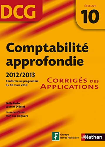COMPTABILITE APPROFOND EPR 10