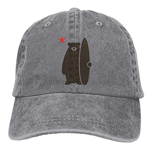 magic ship California Surf Bear Adjustable Cotton Hat