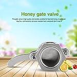 Zerodis Bee Honey Bucket Tap Gate Valve Stainless Steel Hive Honey Extractor Tool Beekeeping Bottling Equipment 18