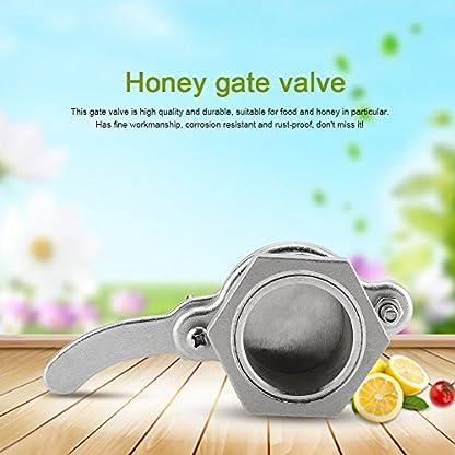 Zerodis Bee Honey Bucket Tap Gate Valve Stainless Steel Hive Honey Extractor Tool Beekeeping Bottling Equipment 9
