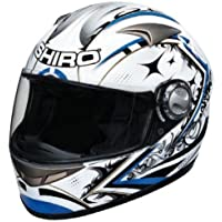 SHIRO SH-338 SEPANG fibra, color blanco y azul