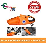 #9: myTVS TDI-22 Car 2-in-1 Vacuum Cleaner and Tyre Inflator