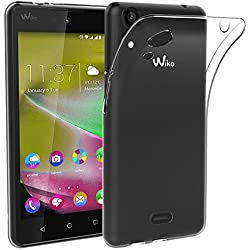 ebestStar - Coque Wiko Rainbow Lite 4G Etui Housse Silicone Gel Anti-Choc Ultra Fine Invisible, Transparent [Appareil: 143 x 71.2 x 9mm, 5.0'']