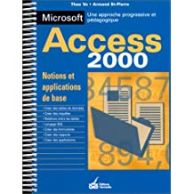 Notions et applications de base avec Microsoft Access 2000