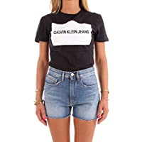 Calvin Klein Jeans T-Shirts For Women, Black M