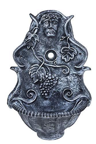 Ondis24 Wandbrunnen Dioniz, Wandbecken Garten, Waschbecken Outdoor, Gartenbrunnen Wandmontage, Wasserbrunnen Antik