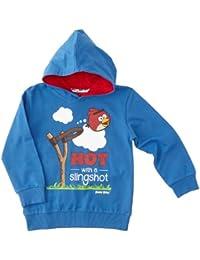 Angry birds - sweat-shirt à capuche - garçon