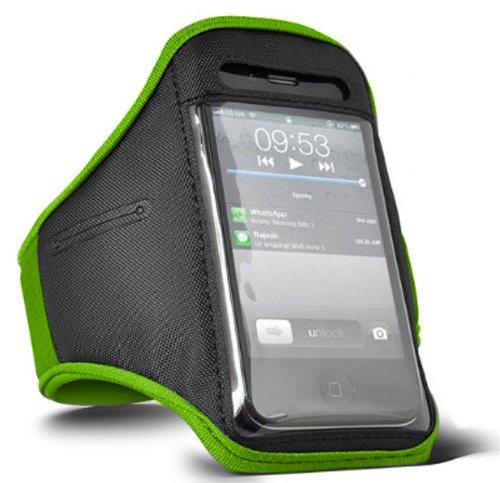 Sport-Armband in Grün für Apple iPod Classic von Digi Pig (Sport Classic Armband Ipod)