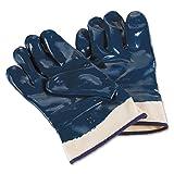 Ansell 27-805/10 Hycron Repelente al aceite guante, Protección mecánica, Tamaño 10, bolsa de 12 pares, Azul
