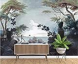 carta da parati foresta pluviale medievale murale TV sfondo decorazione della parete di casa @ 250 * 175 cm