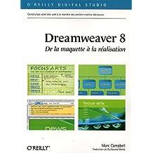 Dreamweaver 8 : De la maquette à la réalisation